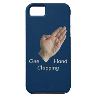 One Hand Clapping iPhone SE/5/5s Case