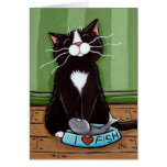 One Happy Kitty - Cat Art Card