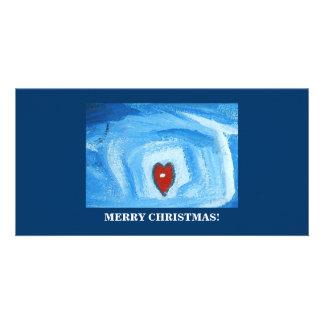 ONE HEART/CHRISTMAS CARD