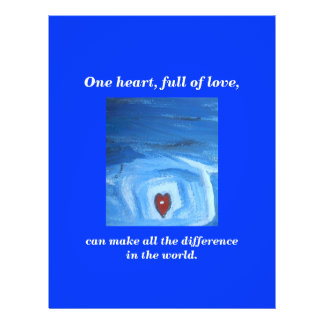 ONE HEART / DIFFERENCE FLYER