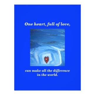ONE HEART / HEALED FLYER DESIGN