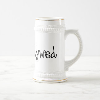 One Heart - Newlywed - Black & White Coffee Mugs