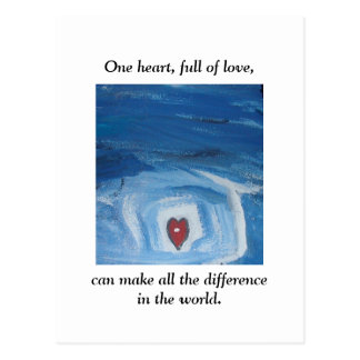 ONE HEART POST CARDS