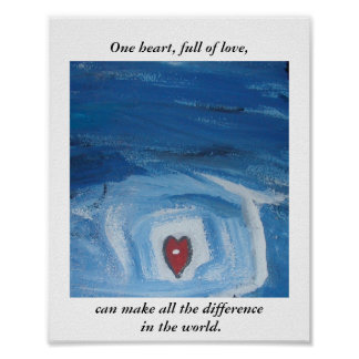 ONE HEART POSTER