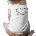 ONE HIT WONDER 2 DOG CLOTHES