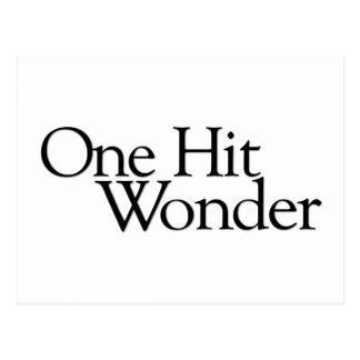 One Hit Wonder Post Card