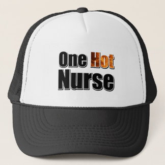 One Hot Accountant Trucker Hat