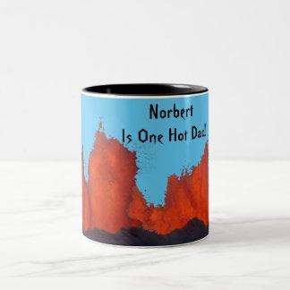 One Hot Dad Coffee Mug