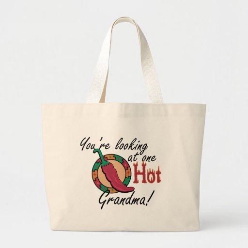 One Hot Grandma Jumbo Tote Bag