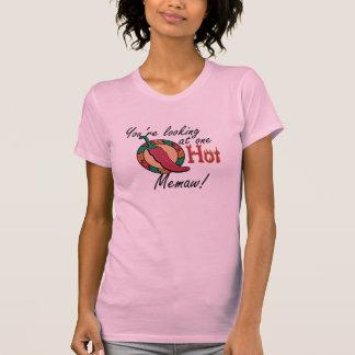 One Hot Memaw Tee Shirt