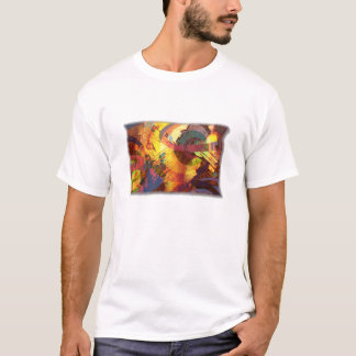 One Hot Mess with Textured Border T-Shirt