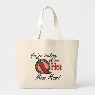 One Hot Mom Mom Jumbo Tote Bag