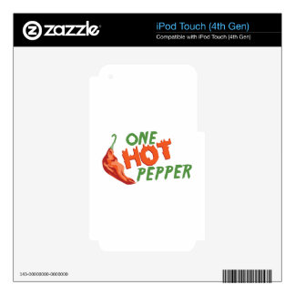 One Hot Pepper Skin For iPod Touch 4G