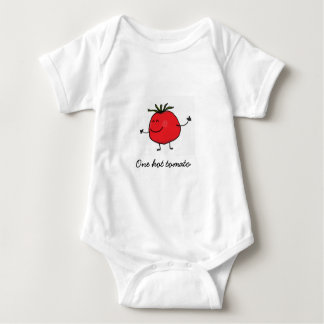 One Hot Tomato Baby Bodysuit