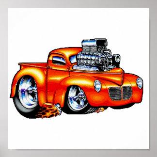 One Hot Truck Print