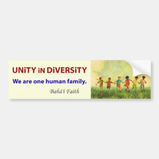 One Human Family Bumper Sticker