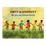 One Human Family Postcard