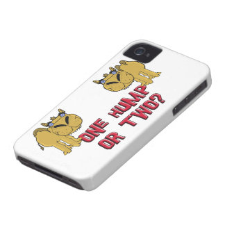 One Hump or Two Schnozzle Camel Cartoon Case-Mate iPhone 4 Case