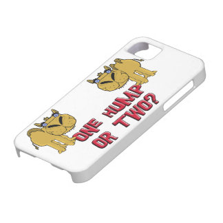 One Hump or Two Schnozzle Camel Cartoon iPhone SE/5/5s Case