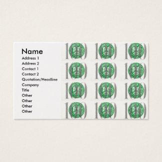 One Hundred Dollar Bill Business Card
