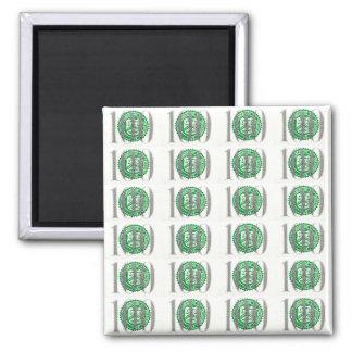One Hundred Dollar Bill Magnet