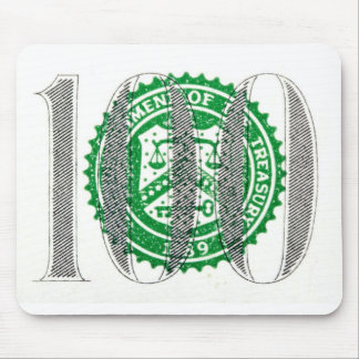 One Hundred Dollar Bill Mouse Pad