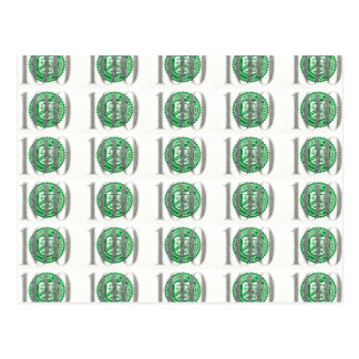 One Hundred Dollar Bill Postcard