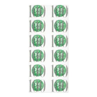 One Hundred Dollar Bill Rack Card