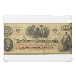 One Hundred Dollars Confederate States of America iPad Mini Covers