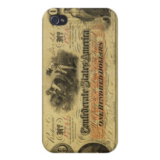 One Hundred Dollars Confederate States of America iPhone 4/4S Cases