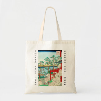 One Hundred Famous Views of Edo Ando Hiroshige Budget Tote Bag