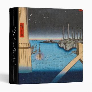 One Hundred Famous Views of Edo Ando Hiroshige Binder