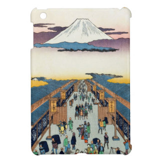 One Hundred Famous Views of Edo Ando Hiroshige iPad Mini Cover