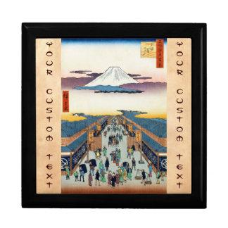 One Hundred Famous Views of Edo Ando Hiroshige Jewelry Box