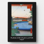 One Hundred Famous Views of Edo Ando Hiroshige Photo Plaques