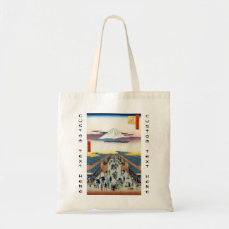 One Hundred Famous Views of Edo Ando Hiroshige Tote Bag