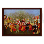 One Hundred Years Of Freedom,  By Rousseau Henri Cards