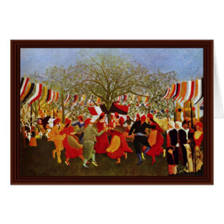 One Hundred Years Of Freedom,  By Rousseau Henri Greeting Card