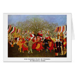 One Hundred Years Of Freedom,  By Rousseau Henri Card
