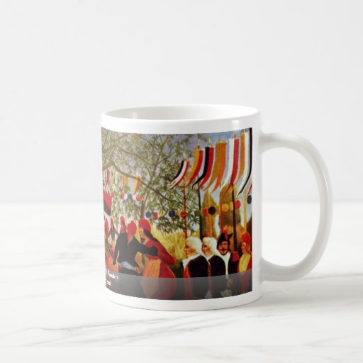 One Hundred Years Of Freedom,  By Rousseau Henri Coffee Mugs
