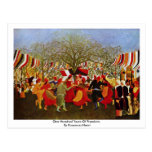 One Hundred Years Of Freedom,  By Rousseau Henri Postcards