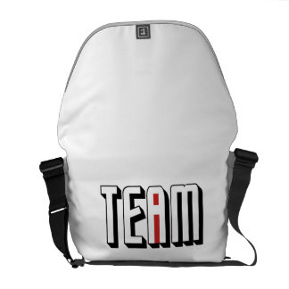 One I In Team Courier Bag
