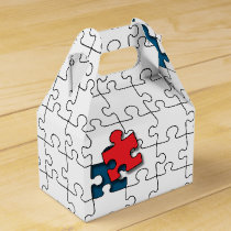 One in 110 - Autism Awareness Favor Box