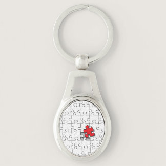 One in 110 - Autism Awareness Keychain