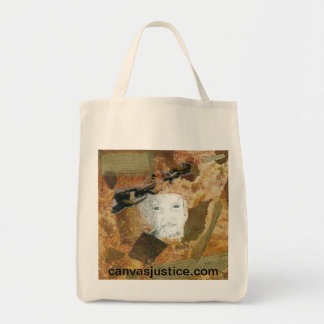 """""""One in 27 Million"""" Tote Bag from Canvas Justice"""
