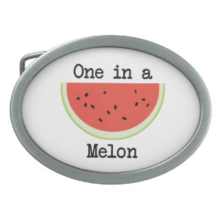 One in a Melon Belt Buckle