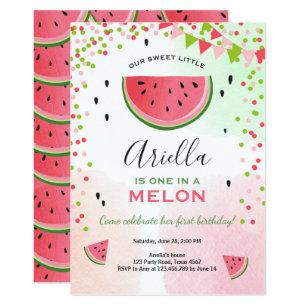 Watermelon Invitations Announcements Zazzle