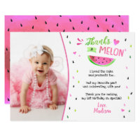One in a Melon Birthday Thank You Cards