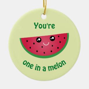 Watermelon Christmas Ornaments Zazzle 100 Satisfaction Guaranteed
