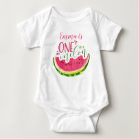One in a Melon Girl Fruit Bodysuit